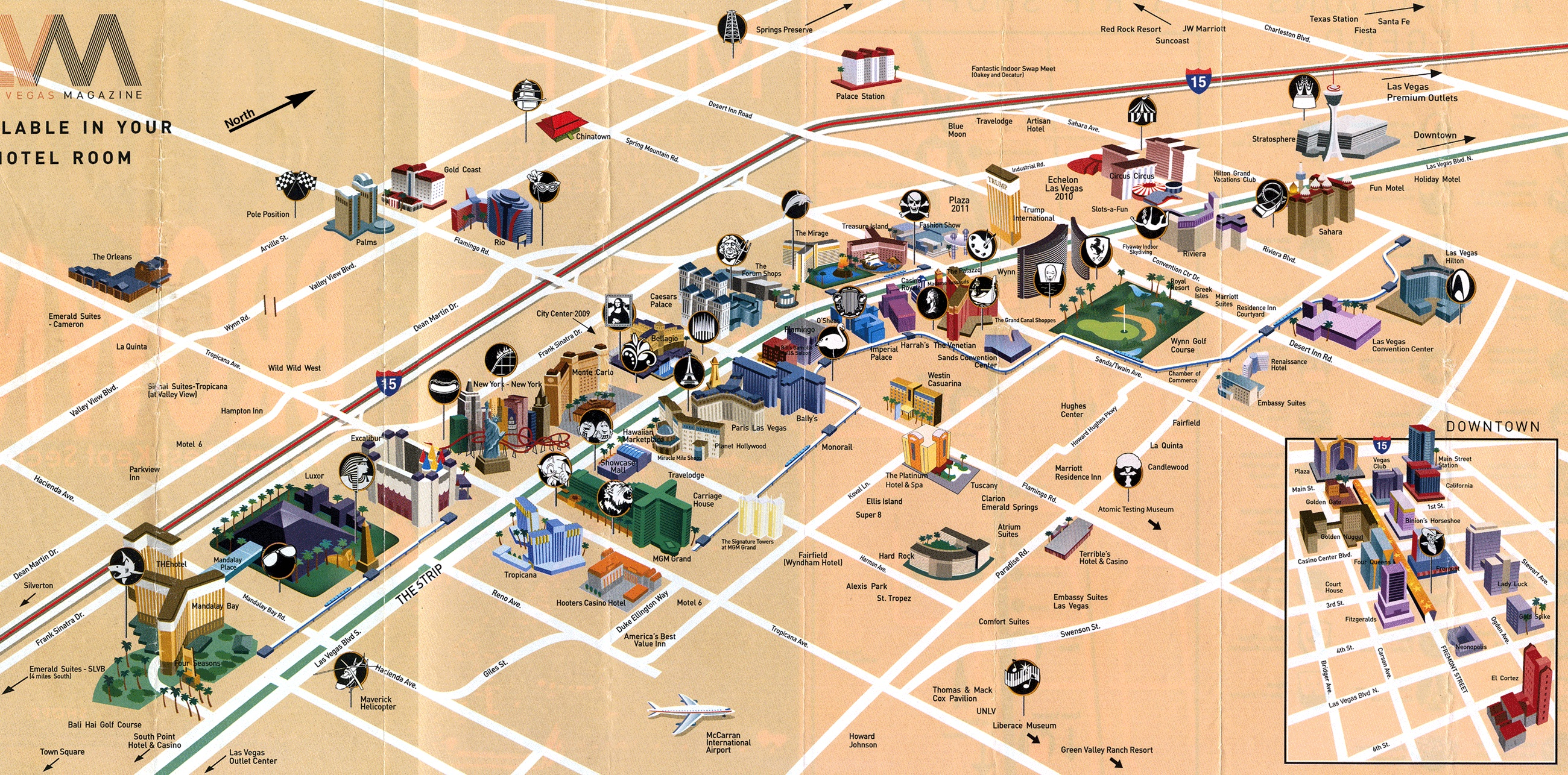 Las Vegas Map Pdf